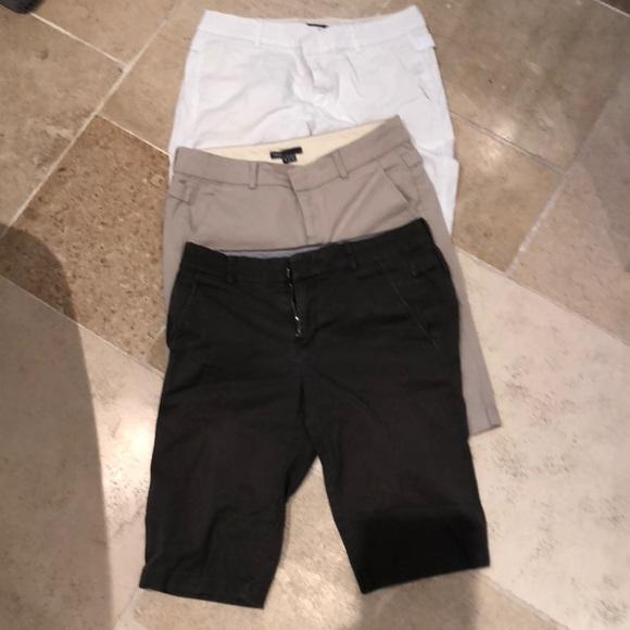94abeb30e5 Vince Shorts | 3 Pairs Of Stretch Bermuda Size 4 | Poshmark